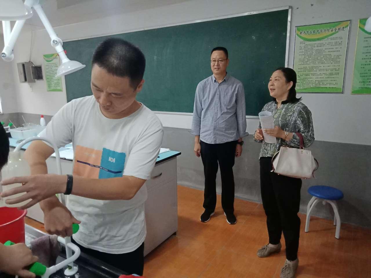 组织有序 圆满完成   ——新沂市高级中学2021届高三理科实验考试侧记