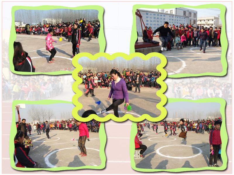 新沂市第六中学师生冬季三项比赛如火如荼开展