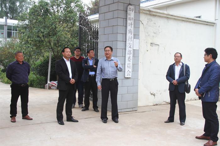 市教育局组织局机关党员干部走村入户结对帮扶工作