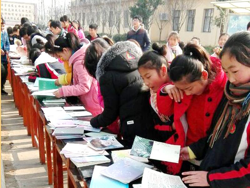 新沂市第六中学开展作业展评活动
