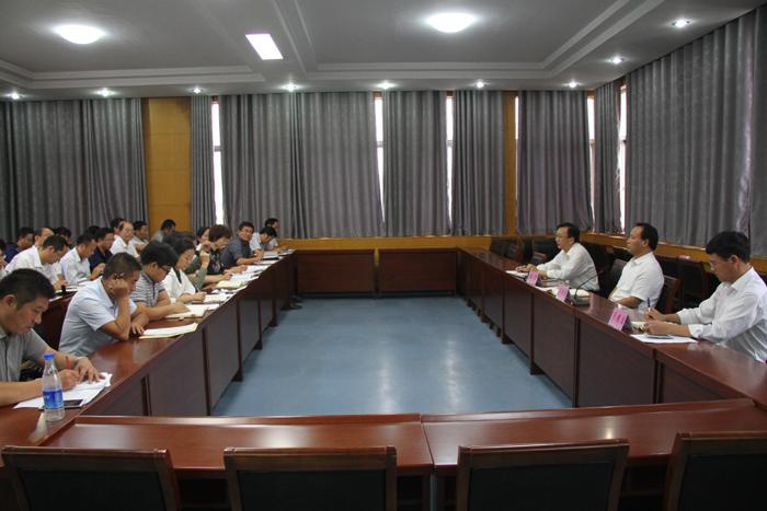 市教育局召开新教育实验项目推进工作座谈会